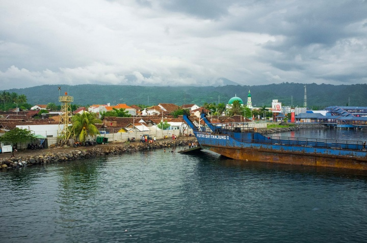 Port in Banyuwangi, Java.