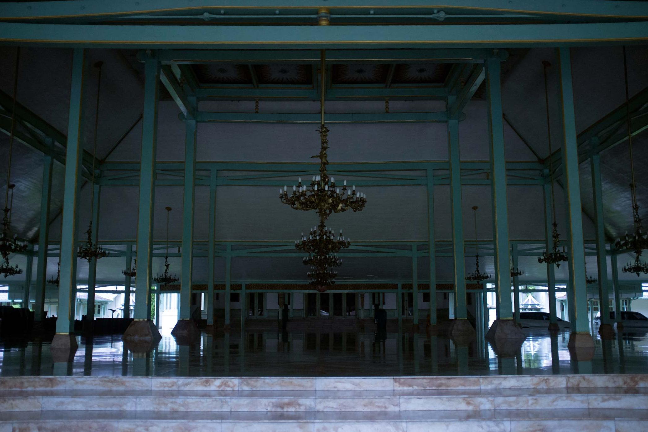 Pura Mangkunegaran,thepalace residence of the Prince Arya Mangkunegaraand his family in Surakarta (1757).