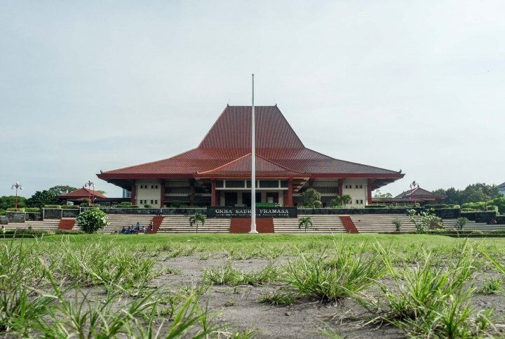Grha Sabha Pramana at Gadjah Mada University in Jogja.
